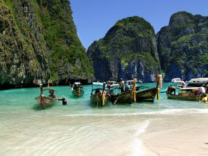 Maya Bay auf Koh Phi Phi Island Krabi