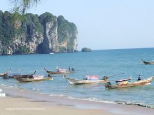 Strandfoto von Ao Nang in Krabi