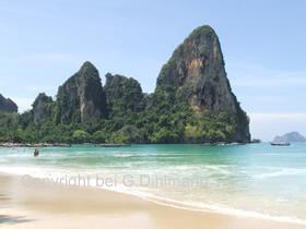Strand in Krabi Thailand